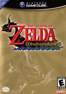 Box art for the game The Legend of Zelda: The Wind Waker