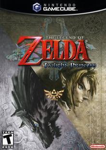 Capa do jogo The Legend of Zelda: Twilight Princess