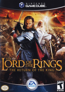 Box art for the game The Lord of the Rings: The Return of the King
