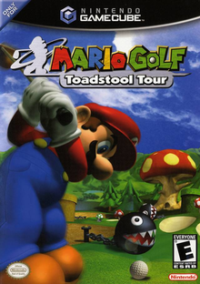 Box art for the game Mario Golf: Toadstool Tour