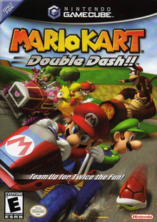 Box art for the game Mario Kart: Double Dash!!