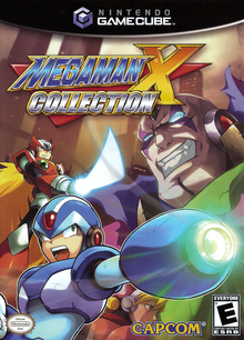 Box art for the game Mega Man X Collection