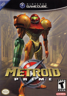 Box art for the game Metroid Prime