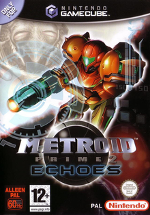 Box art for the game Metroid Prime 2: Echoes