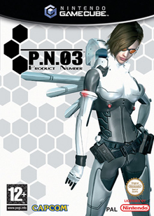 Box art for the game P.N.03