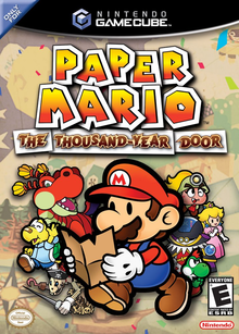 Box art for the game Paper Mario: The Thousand-Year Door