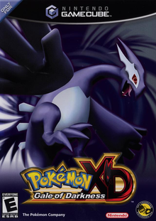 Box art for the game Pokemon XD: Gale of Darkness