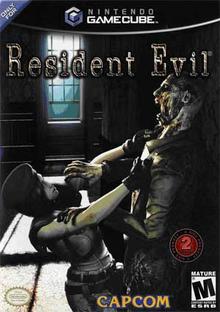Capa do jogo Resident Evil