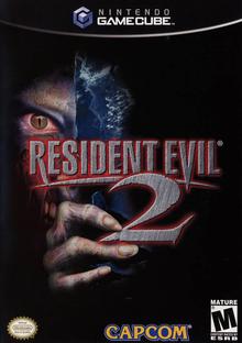 Box art for the game Resident Evil 2