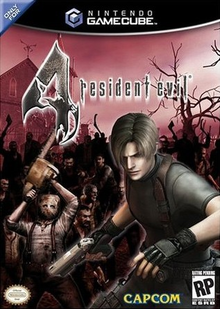 Box art for the game Resident Evil 4