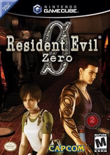 Box art for the game Resident Evil Zero
