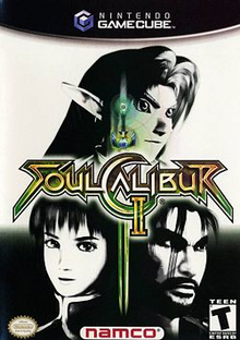 Box art for the game Soulcalibur II