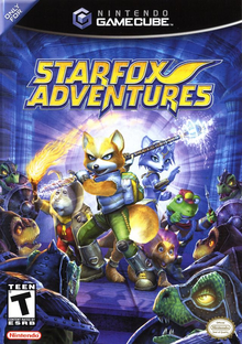 Box art for the game Star Fox Adventures