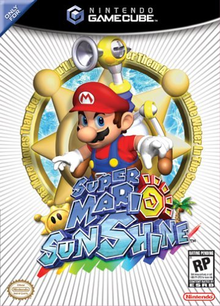 Box art for the game Super Mario Sunshine