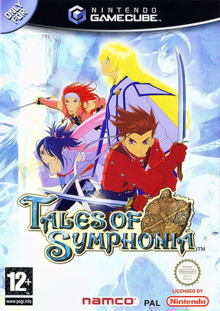 Box art for the game Tales of Symphonia