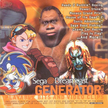 Box art for the game Generator Demo Disc Vol. 1