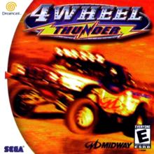 Box art for the game 4 Wheel Thunder