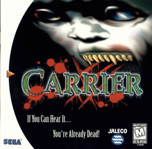 Box art for the game Carrier