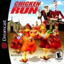 Box art for the game Chicken Run
