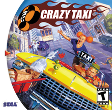 Box art for the game Crazy Taxi