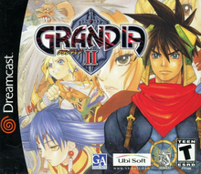 Box art for the game Grandia II