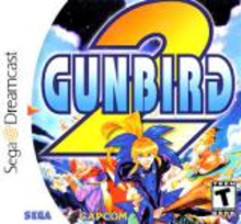Box art for the game Gunbird 2