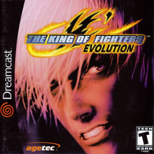 Box art for the game The King of Fighters '99: Evolution