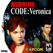 Box art for the game Resident Evil CODE: Veronica
