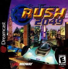 Box art for the game San Francisco Rush 2049