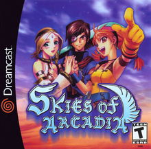 Box art for the game Skies of Arcadia