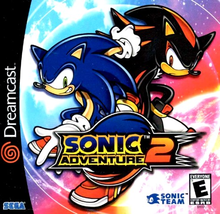 Box art for the game Sonic Adventure 2