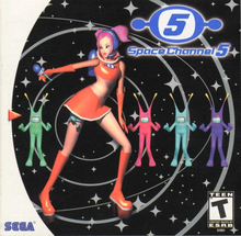 Box art for the game Space Channel 5