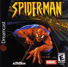 Box art for the game Spider-Man (2001)