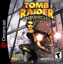 Box art for the game Tomb Raider Chronicles