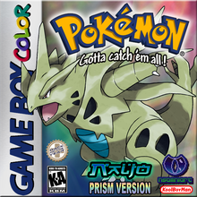 Box art for the game Pokemon Prism