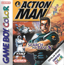 Box art for the game Action Man