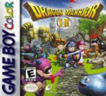 Box art for the game Dragon Warrior I & II