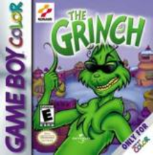 Box art for the game The Grinch