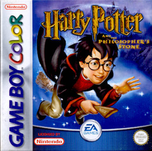 Capa do jogo Harry Potter and the Sorcerer's Stone