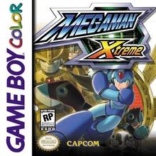 Box art for the game Mega Man Xtreme