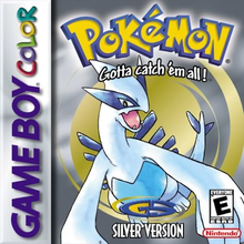 Capa do jogo Pokemon Silver Version