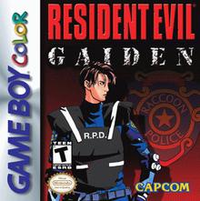 Box art for the game Resident Evil Gaiden