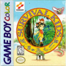 Box art for the game Survival Kids