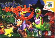 Box art for the game Banjo-Kazooie