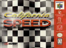 Box art for the game California Speed