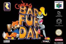 Capa do jogo Conker's Bad Fur Day