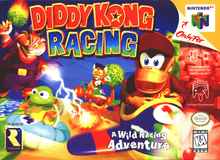 Box art for the game Diddy Kong Racing