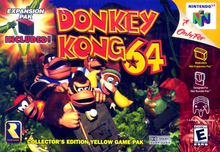 Box art for the game Donkey Kong 64