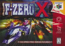 Box art for the game F-Zero X