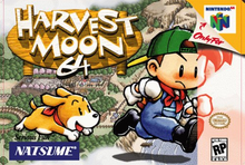 Box art for the game Harvest Moon 64